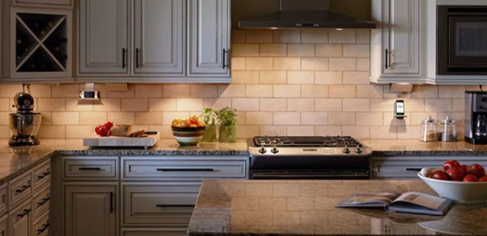 Kitchen Counter Measures: Adorne™ from Legrand. Designed to Be Better.