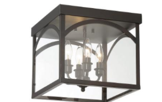 savoy house four light flush mount fixture
