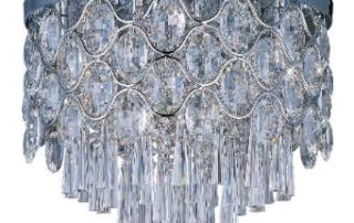 jewel collection flush mount fixture
